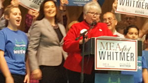 MEA Endorses Whitmer For Governor
