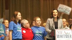 MEA Endorses Whitmer For Governor Of Michigan