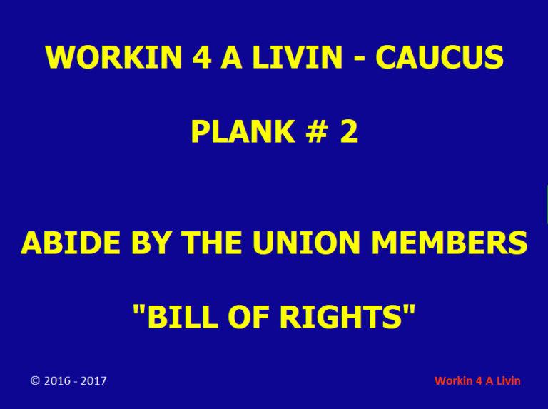 Platform Plank # 2: