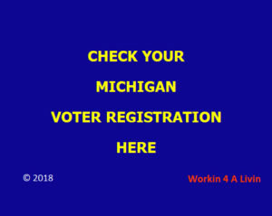 MICHIGAN VOTER REGISTRATION CHECK
