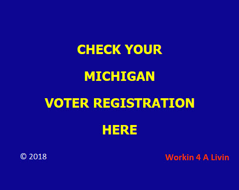 MICHIGAN VOTER REGISTRATION CHECK