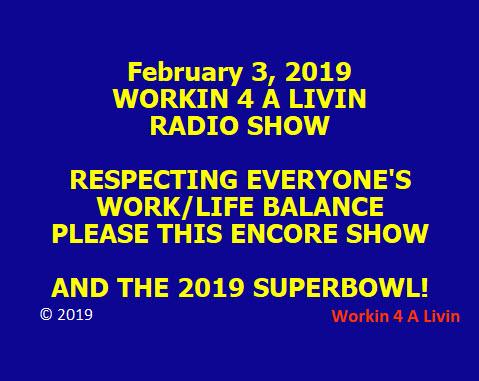 Encore Show, Request For Legislative Review.