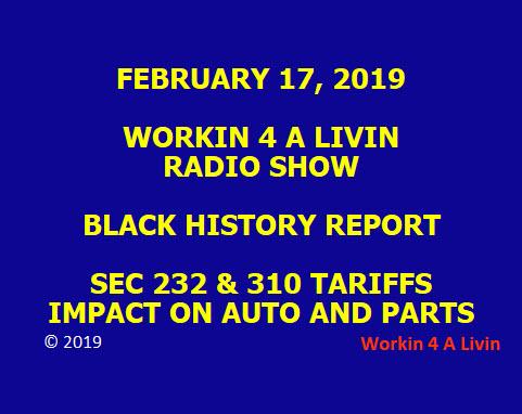 Workin 4 A Livin 2019-02-17 Posting Image