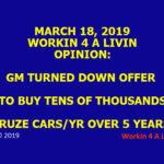 GM Stock n Bond Holders Take Notice