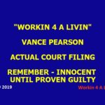 Vance Pearson Complaint