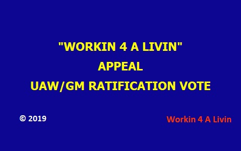 Ratification Appeal Vote