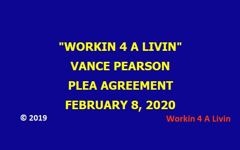 Vance Pearson Plea Agreement