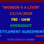 FBI - UAW Settlement Agreemen